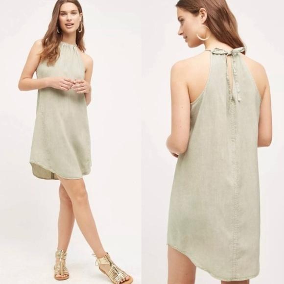 adfbce9bd098 Anthropologie Dresses   Hightide Halter Dress Cloth Stone   Poshmark